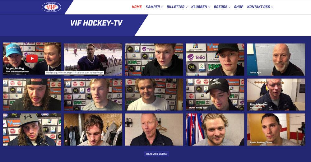 Vålerenga HockeyTV - YouTube Feed