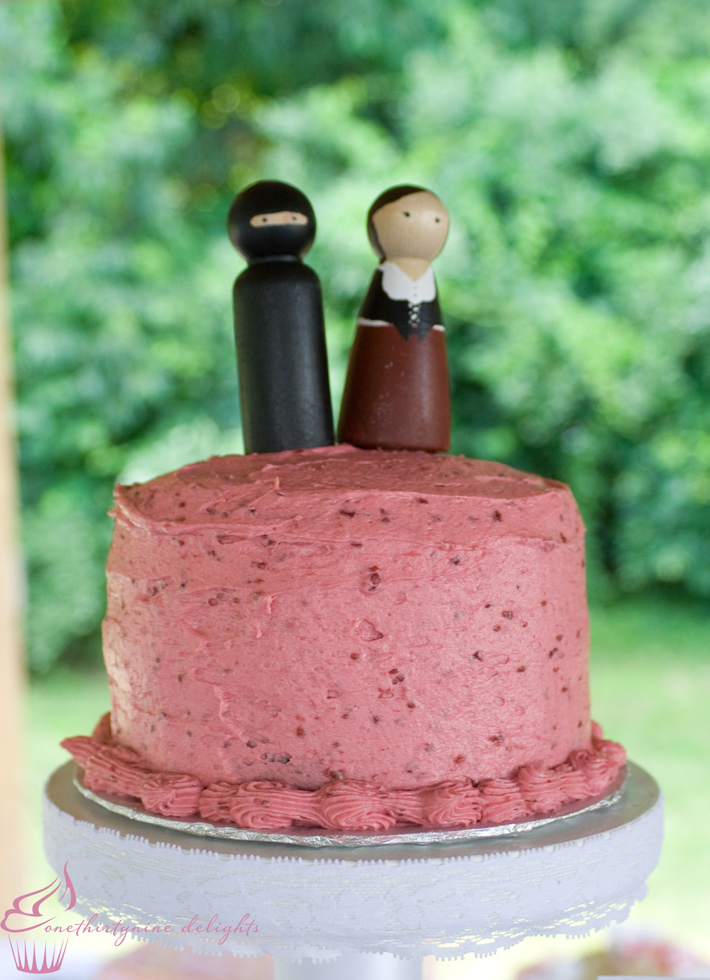 Chocolate Raspberry Wedding Cake