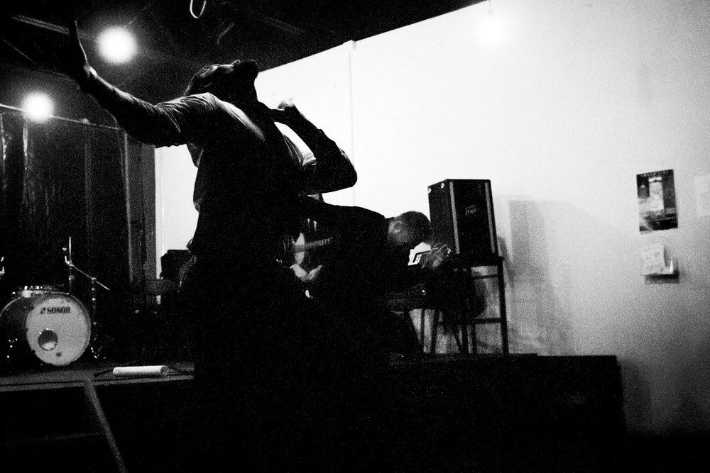 Eric Mullis and Matt Cosper.    Neighborhood Theatre (Charlotte, NC) on 11/20/14.