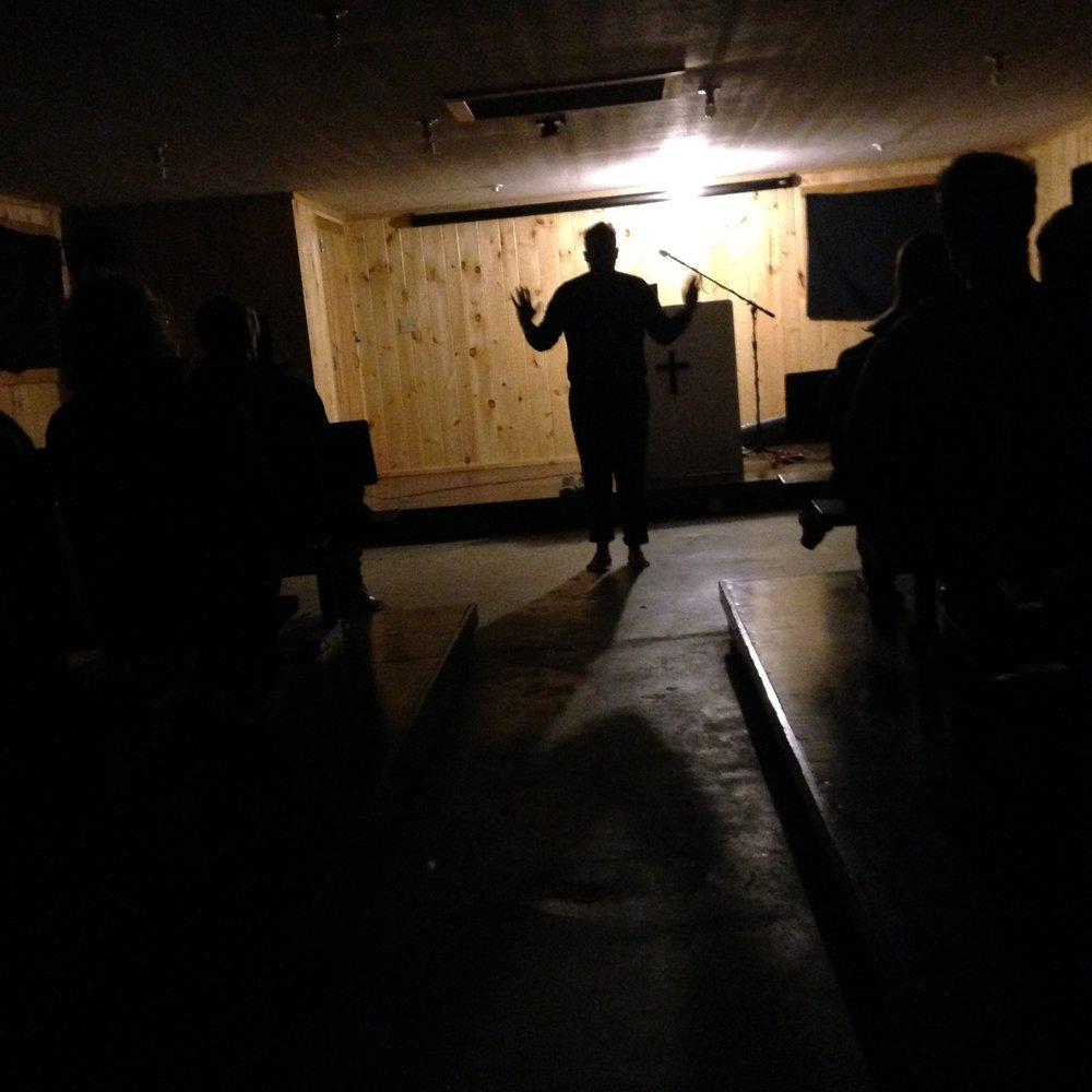 Matt Cosper. {Re}Happening Experimental Performance Festival (Black Mountain, NC), 3/20/2016.