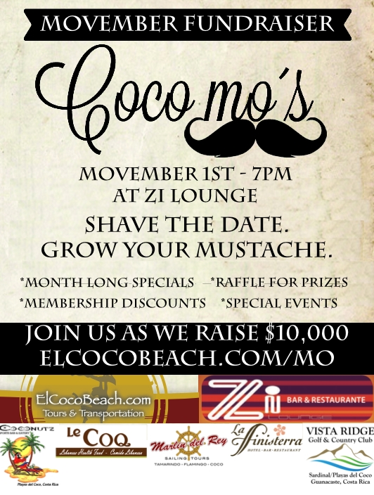 Find out more at  elcocobeach.com/movember