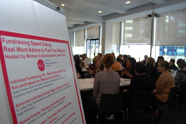 Fundraising Speed Dating Session