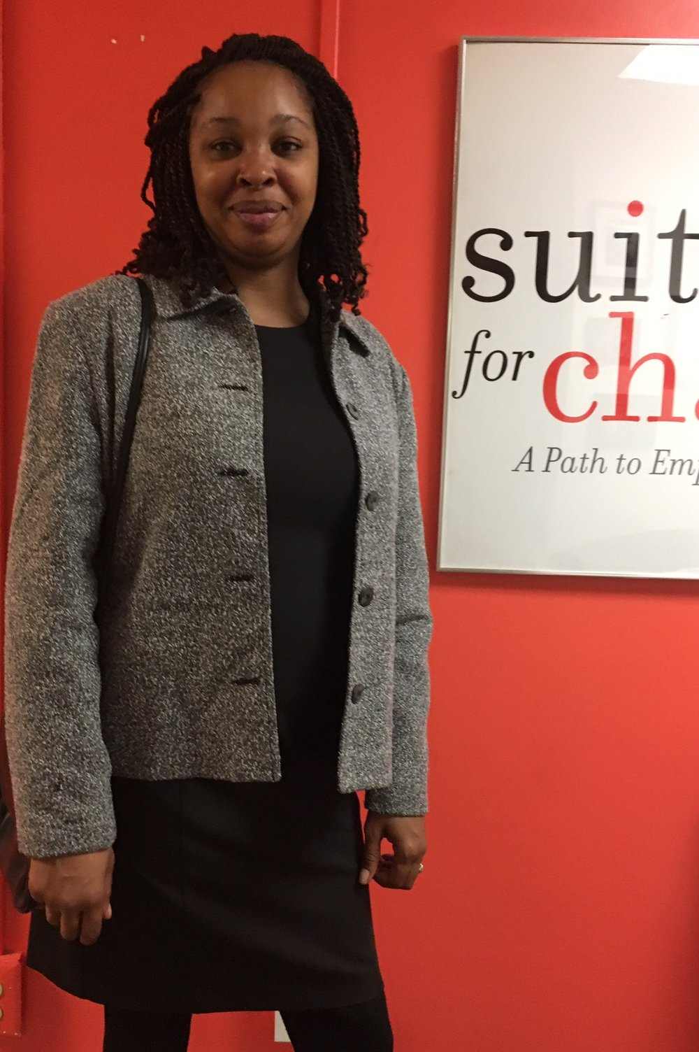 Client at Suited for Change (Washington, D.C.)