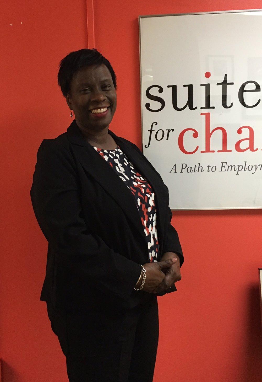 Client at Suited for Success (Washington, D.C.)