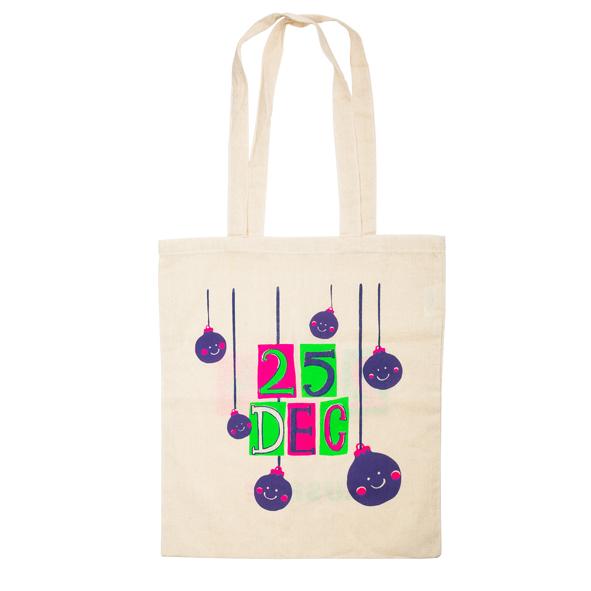 LUSH - Christmas canvas bag