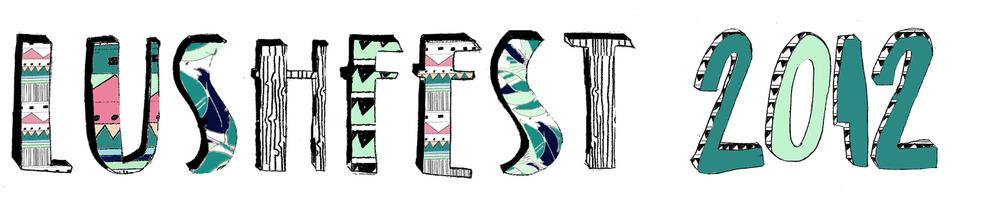 LUSH Fest Logo design