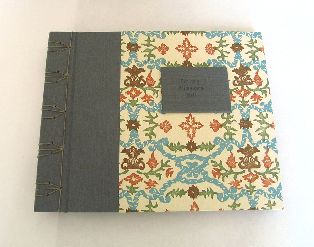 Hardcover album with Japanese-style binding.