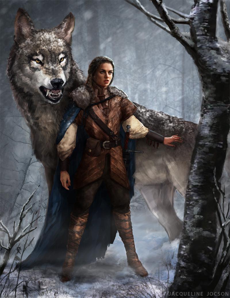 Arya_and_Nymeria-By_JAXJocson.jpg