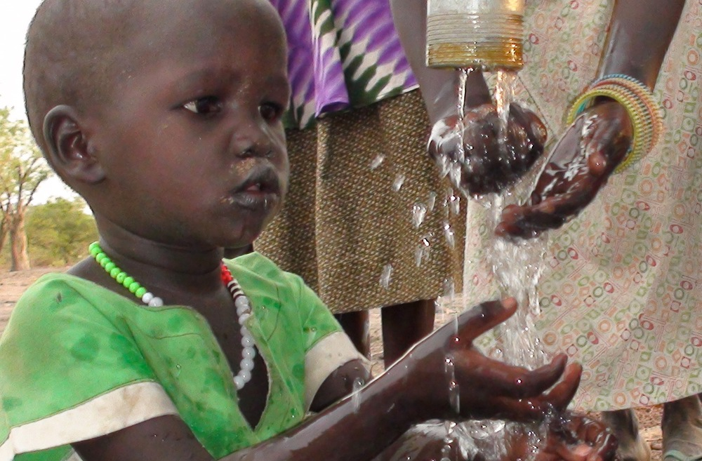 Your tax deductible donation helps bring clean water and sanitation to the people of South Sudan.