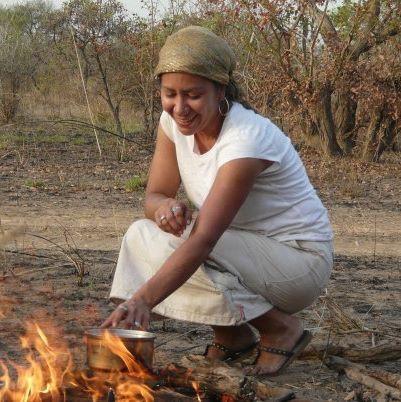 WFSS board member Angelique Stevens in South Sudan.