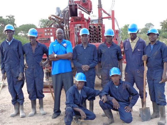 WFSS drilling team at start of 2014-15 season.