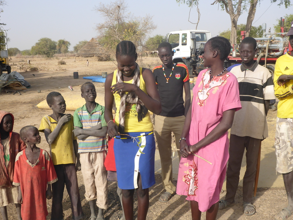 a new well changes everything in south sudan.