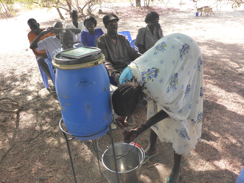 wfss hygiene team helps villagers identify and improve hygiene practices