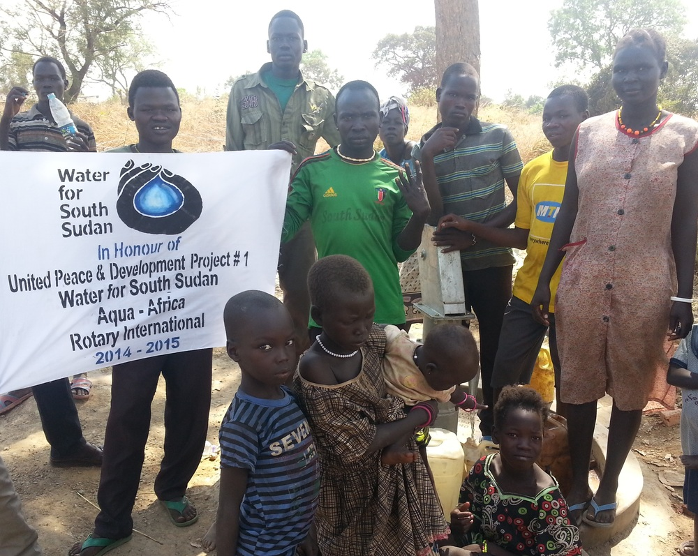 united peace & development well drilled in 2015