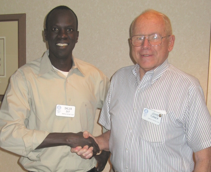WFSS Founder Salva Dut and the late John Turner, WFSS's first COO