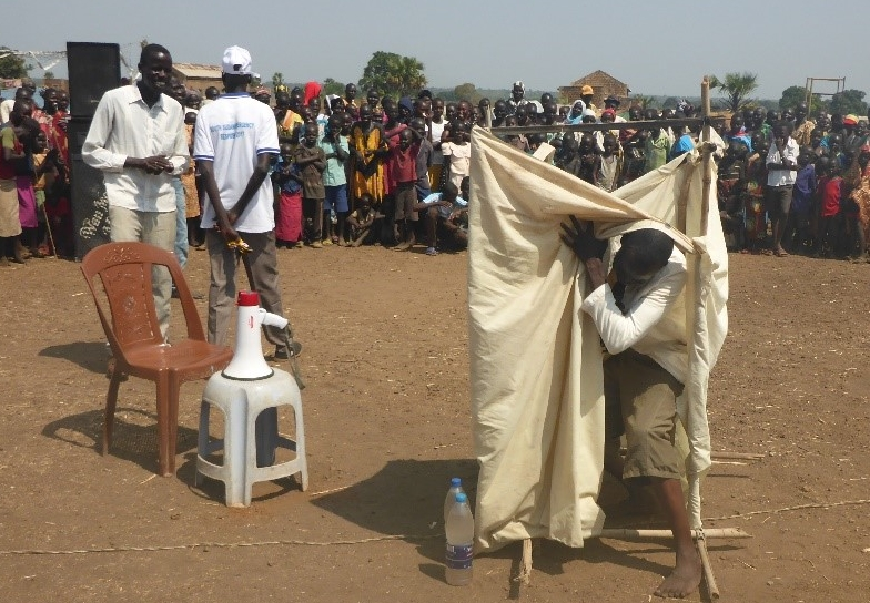wau residents participate in activities marking world toilet day.