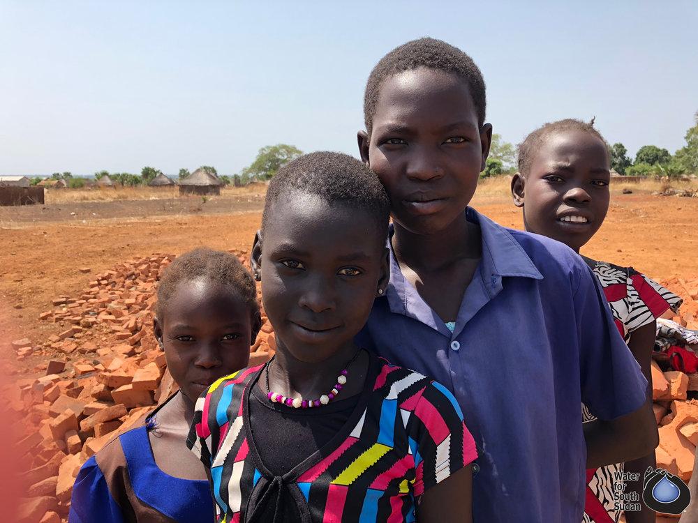 Students at Zogolona School in Wau