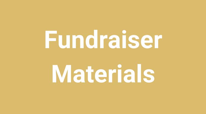 Fundraiser Materials