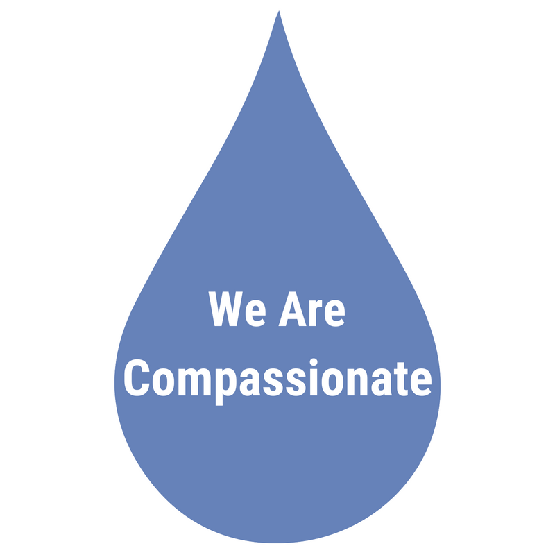 Our interactions and services are delivered with warmth, sincerity, and compassion. -