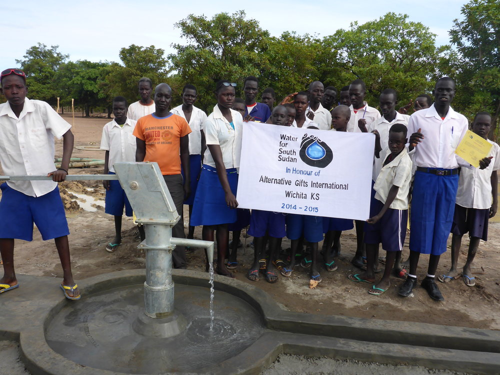 Kokpiny Village where Alternative Gifts International's second well was drilled in 2014.