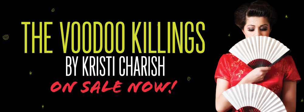 Kristi Charish, Author of The Voodoo Killings
