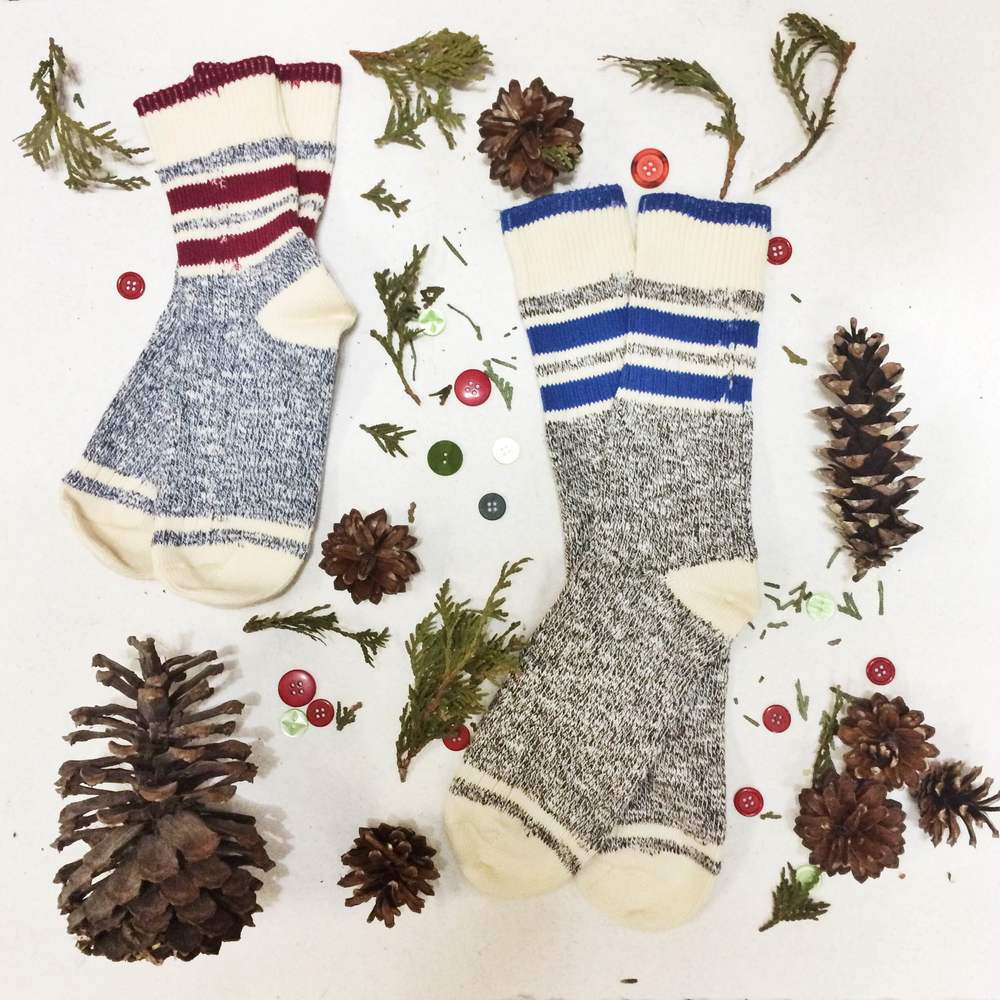 Come get these    $15 socks  to warm your Secret Santa's toes.
