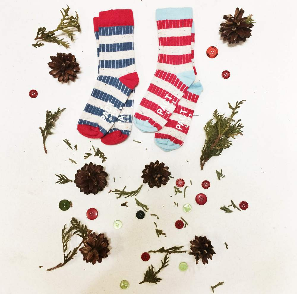 Warm your Secret Santa's littlest elves with these organic cotton socks for $12.