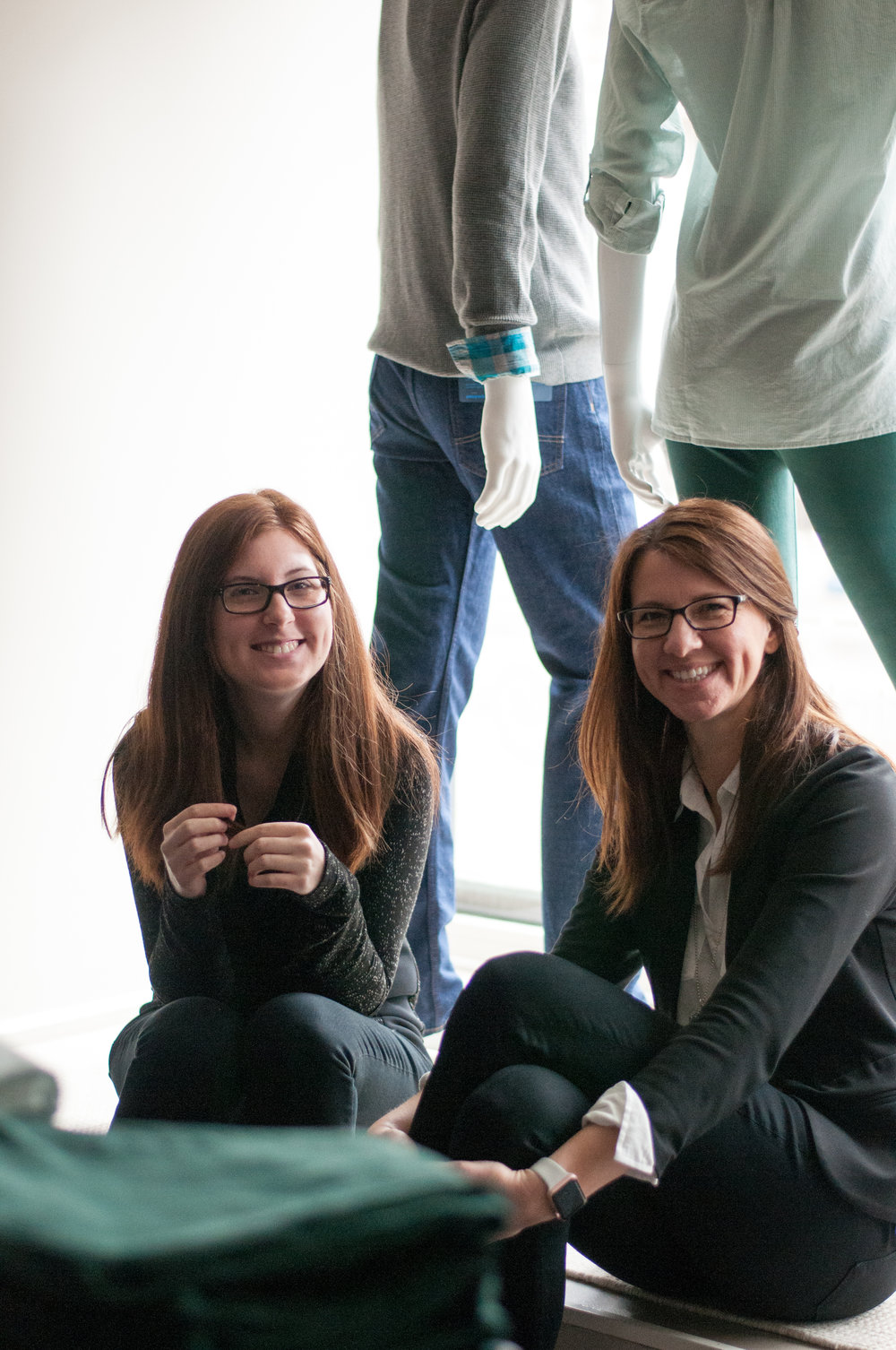 Morgan (Left) and Lynda (Right) are the mother/daughter team behind Grey Rock Clothing Co.