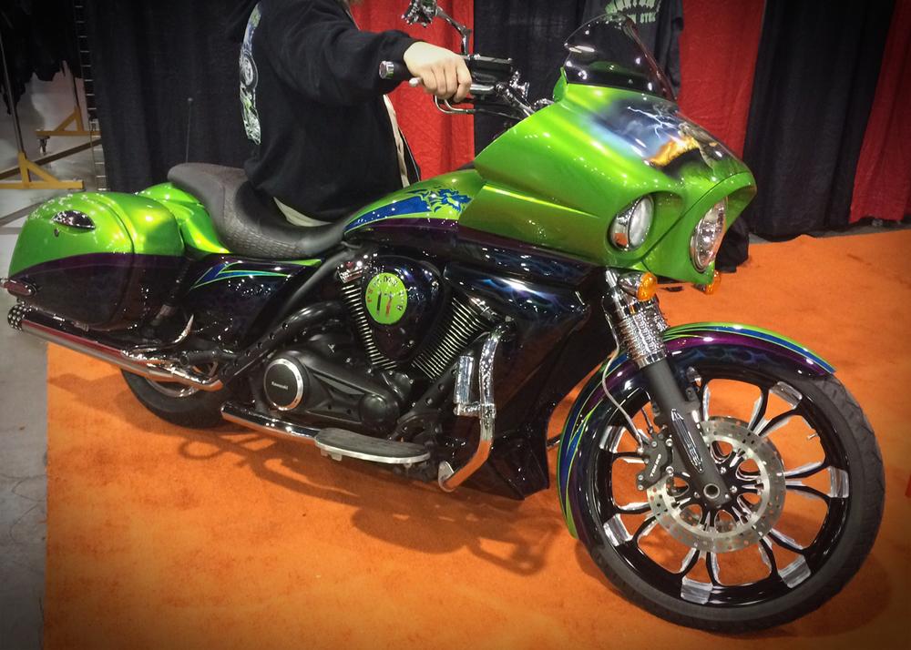 2012 Kawasaki Vulcan Vaquero custom