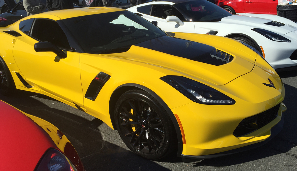 Corvette Z06 #1 from Cars and Coffee Charlotte March 2015