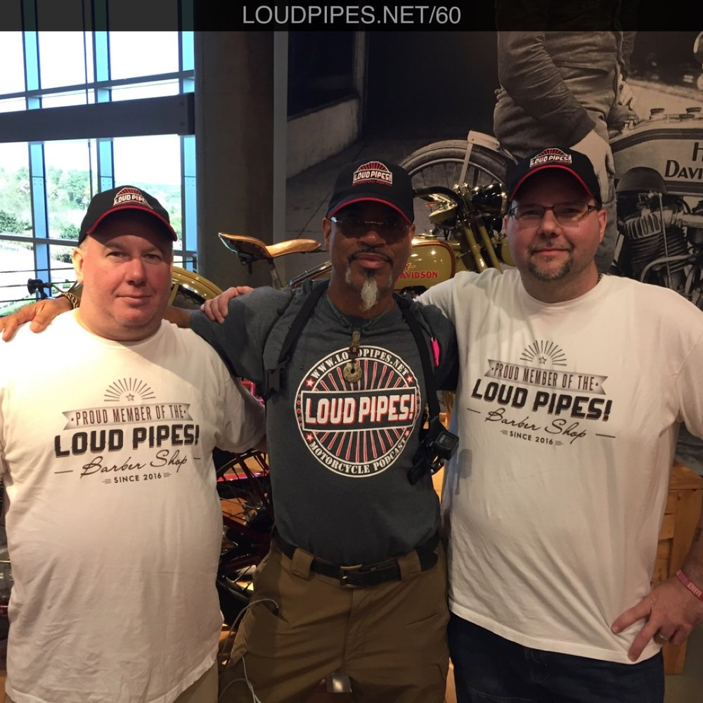 Loud Pipes crew at Barber Vintage Museum 2016.jpg