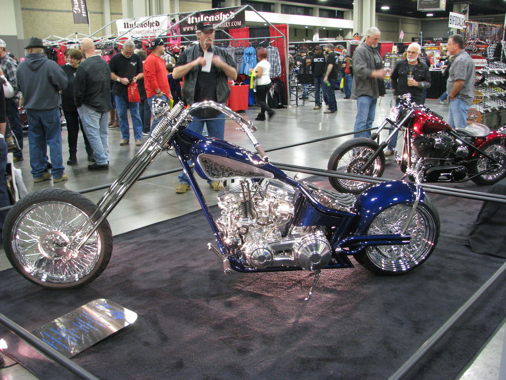 "Mike (18two4ever) favorite bike of the show. - Lone Star Chopper ""El Ray"""