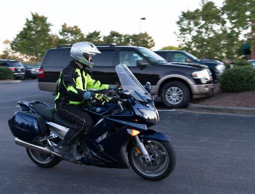 KP on his Yamaha FJR 1300