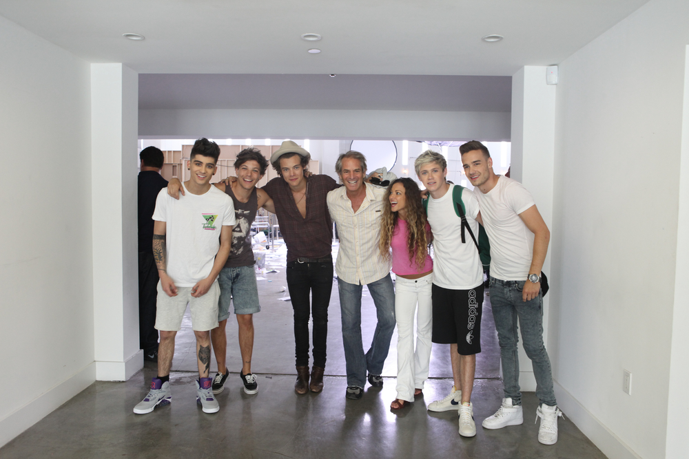 One Direction at Temple House Studios