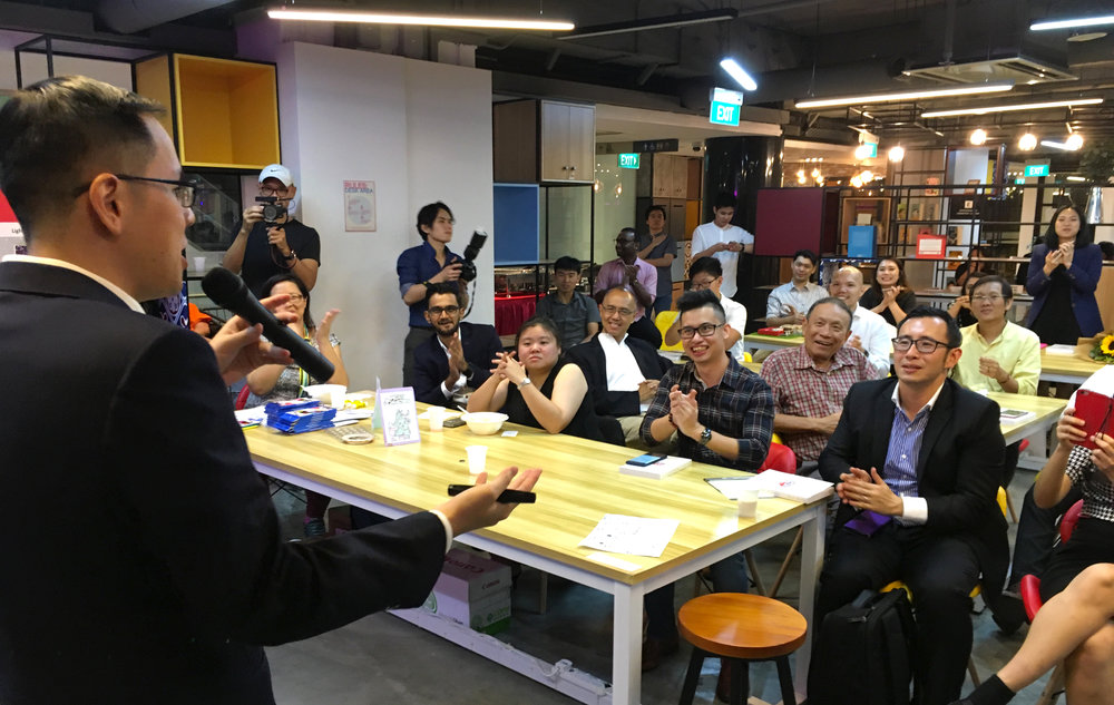 The Introvert Book Launch - Speaking in Singapore at MOX
