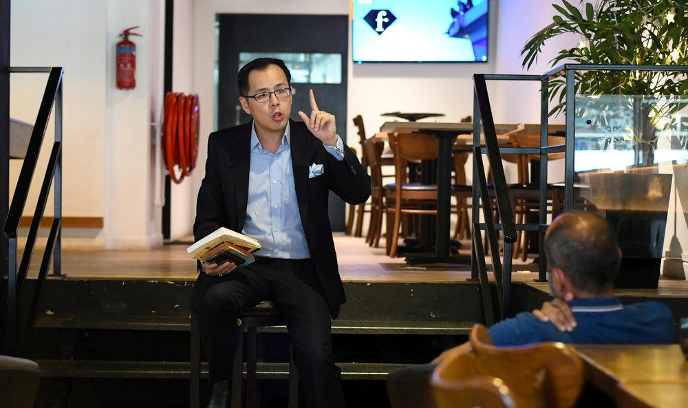 Speaking at Men's Symposium Singapore 2019