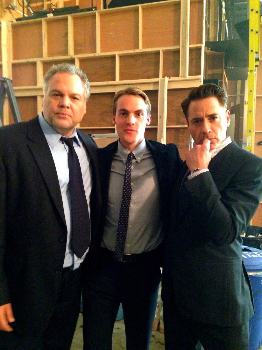 Paul Emile, Robert Downey Jr. , Vincent D'Onofrio,