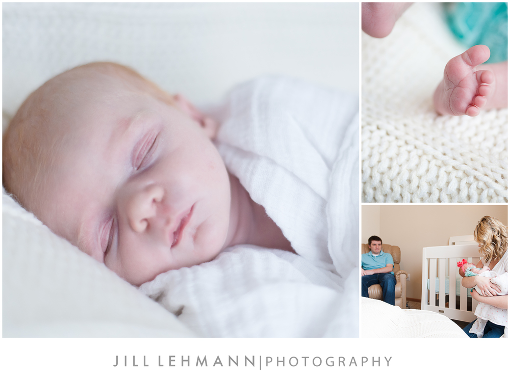 © Jill Lehmann Photography - Baby, Newborn Photography in Des Moines, IA