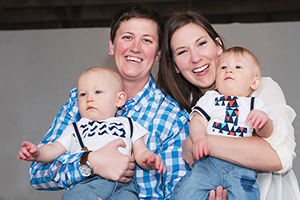 Lesbian / Gay Family Photography - Des Moines, IA