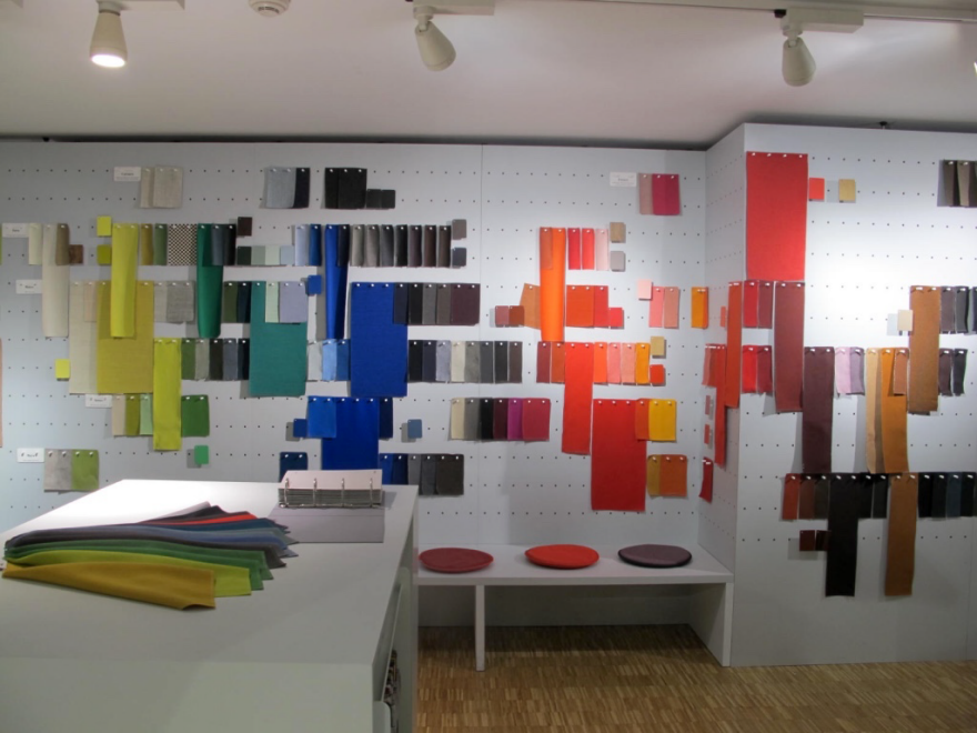 Casa Vitra Color Library. Photo by LinYee Yuan.