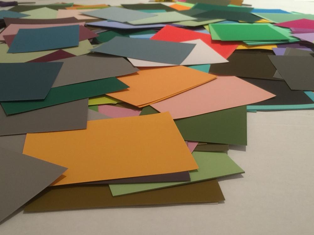Josef Albers Color Workshop Color-aid Paper