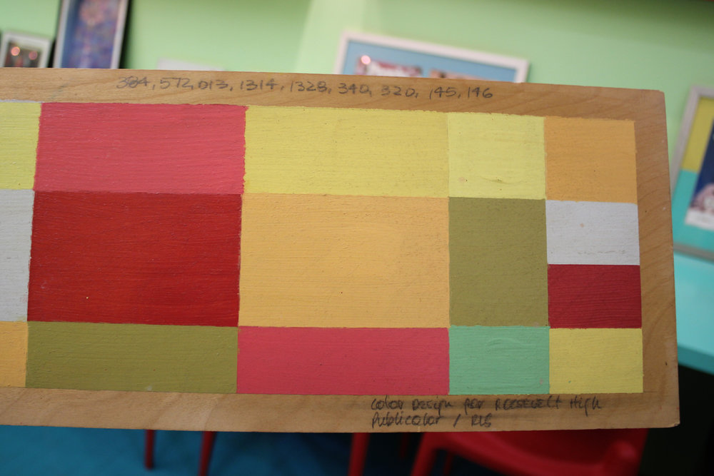 """""""Color Design for Roosevelt High"""""""