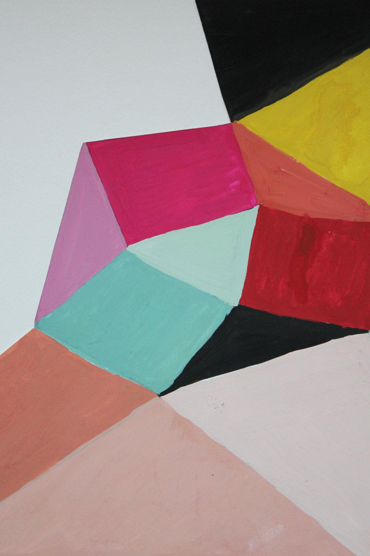 missoni color study gouache
