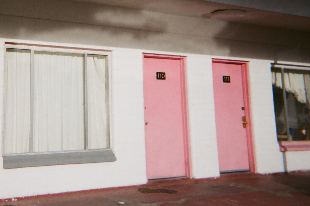 Pink Motel in Las Vegas by Sophia N. Ahmad
