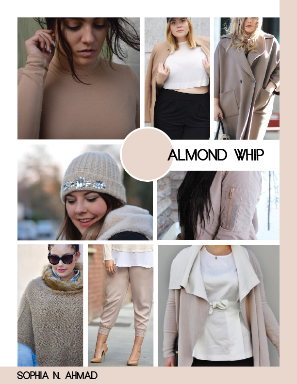 ALMOND WHIP PLUS SIZE COLOR REPORT SOPHIA N. AHMAD