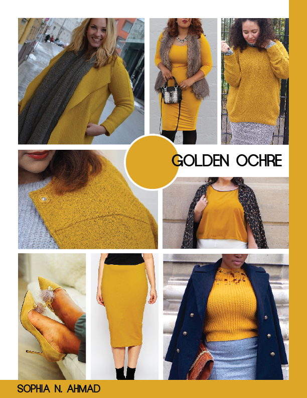 GOLDEN OCHRE PLUS SIZE COLOR REPORT SOPHIA N. AHMAD