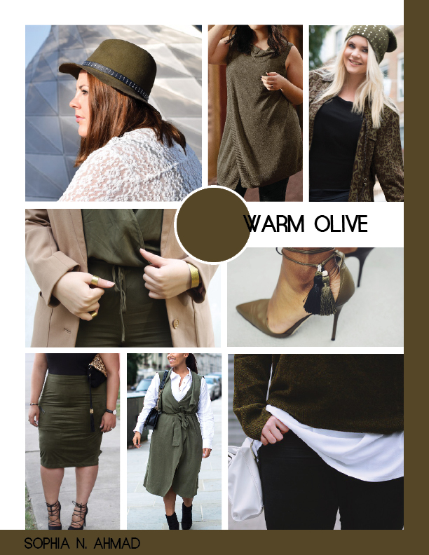 WARM OLIVE PLUS SIZE COLOR REPORT SOPHIA N. AHMAD