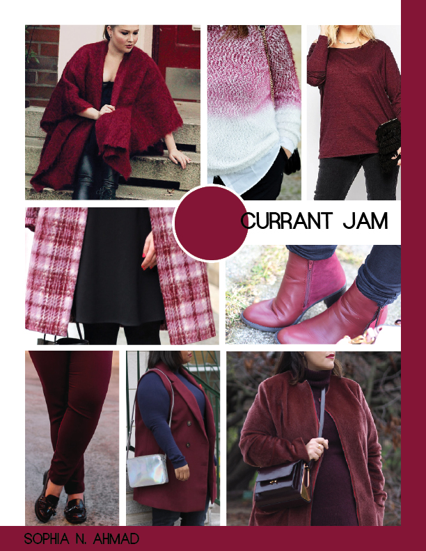 CURRANT JAM PLUS SIZE COLOR REPORT SOPHIA N. AHMAD
