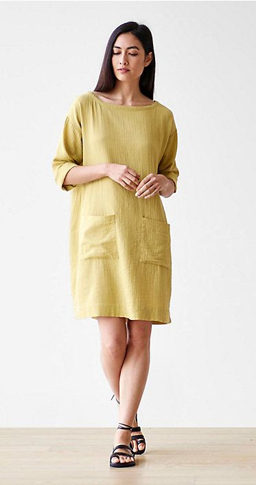 """""""Papyrus dress--although this is a 'color', it can have a neutral appearance. It can mix with another neutral type color, such as Dune or Natural and then can create gorgeous subtlety to an outfit""""."""