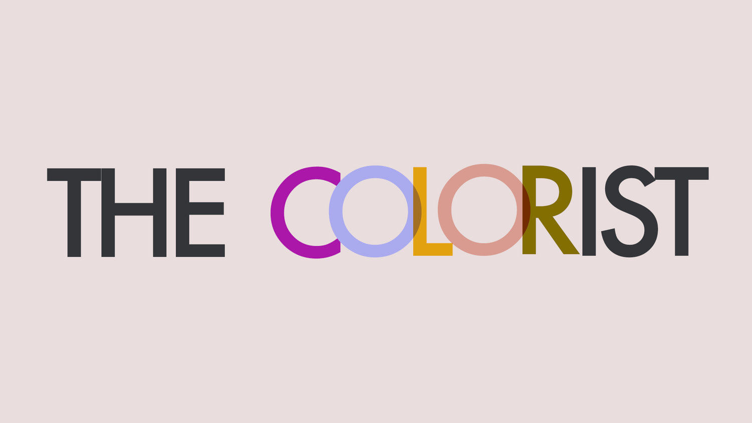 THE COLORIST: Creative Services for Fashion and Home Brands